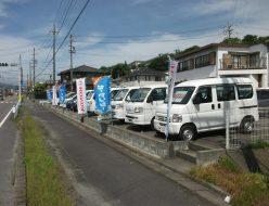 亀山店中古車展示場
