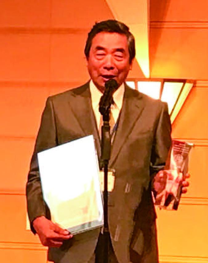 CRM ベストプラクティス賞受賞 林口社長